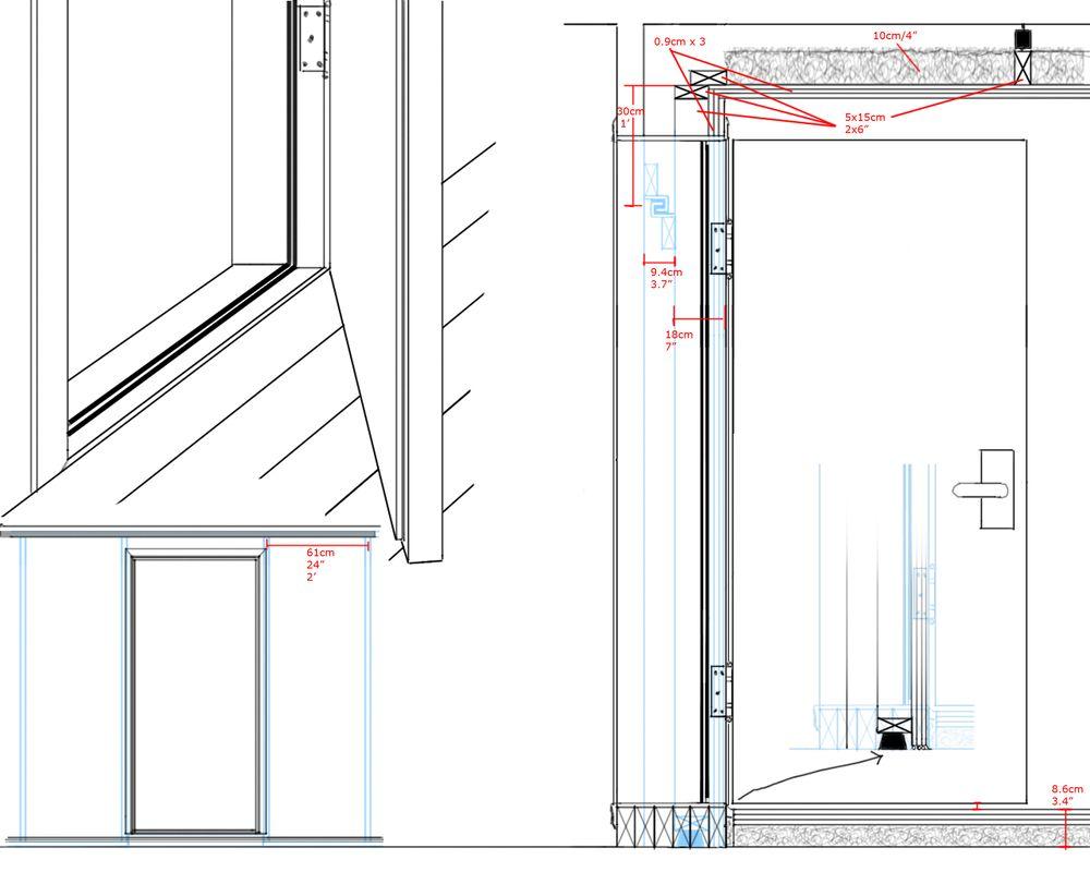 Studio door an economical and performant sound proof for 5th door design studio