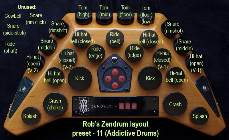 Zendrum layout #11