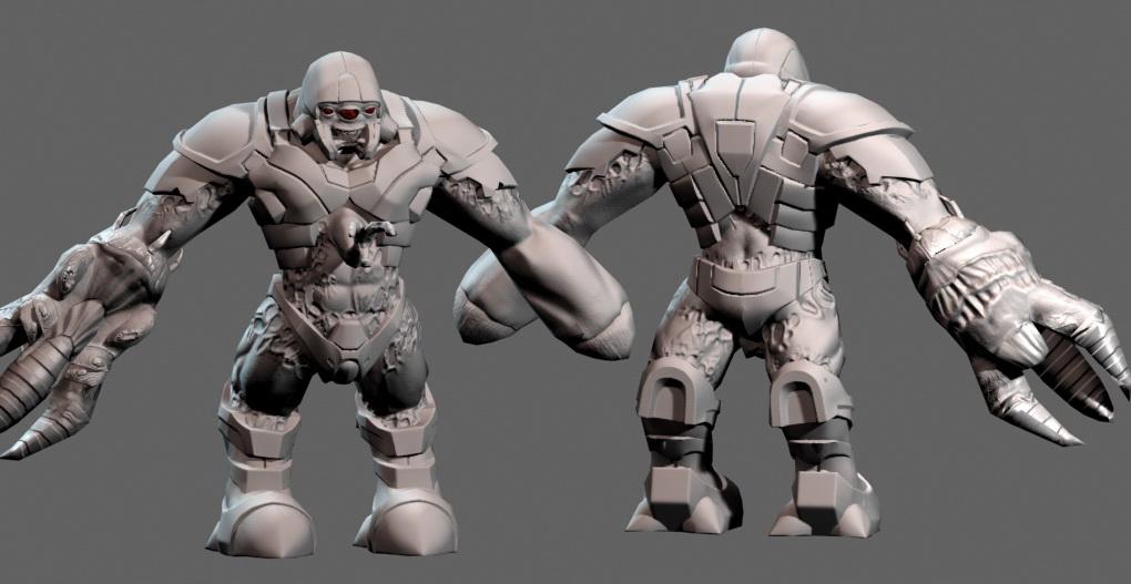 Concept - Black Mesa, Half-Life alien grunt